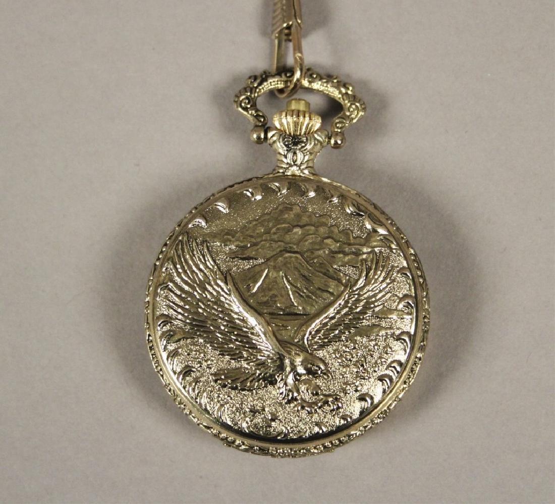 Statue of Liberty Commemorative Pocket Watch - 3