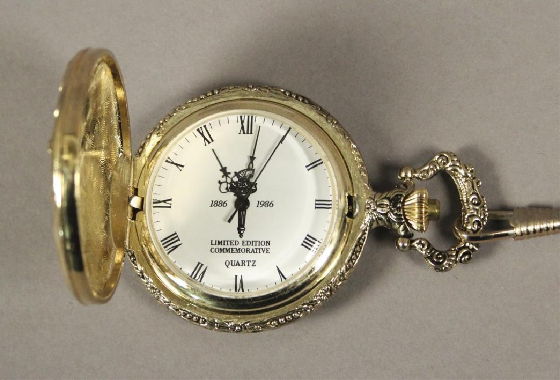 Statue of Liberty Commemorative Pocket Watch - 4