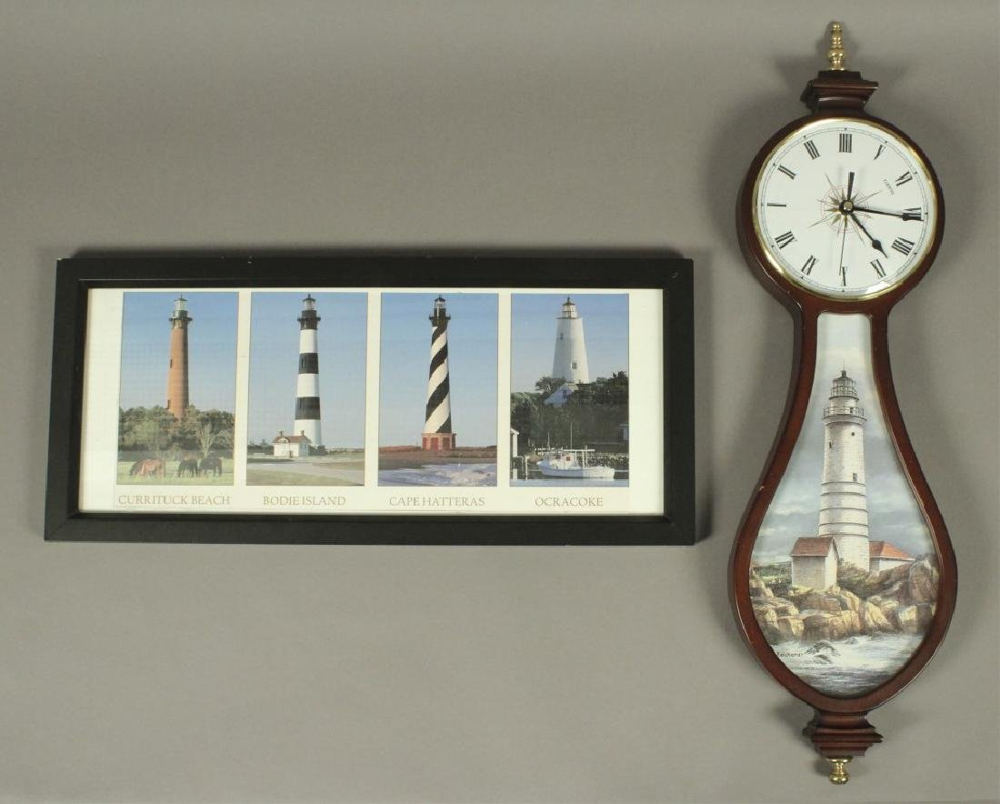 Lighthouse Picture & Wall Clock Collection