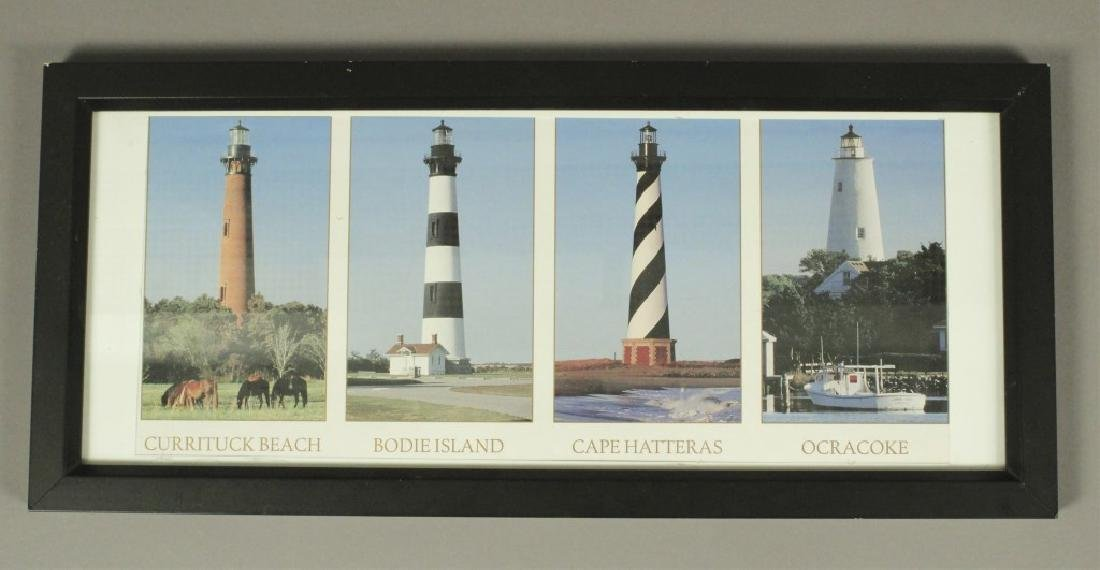 Lighthouse Picture & Wall Clock Collection - 2