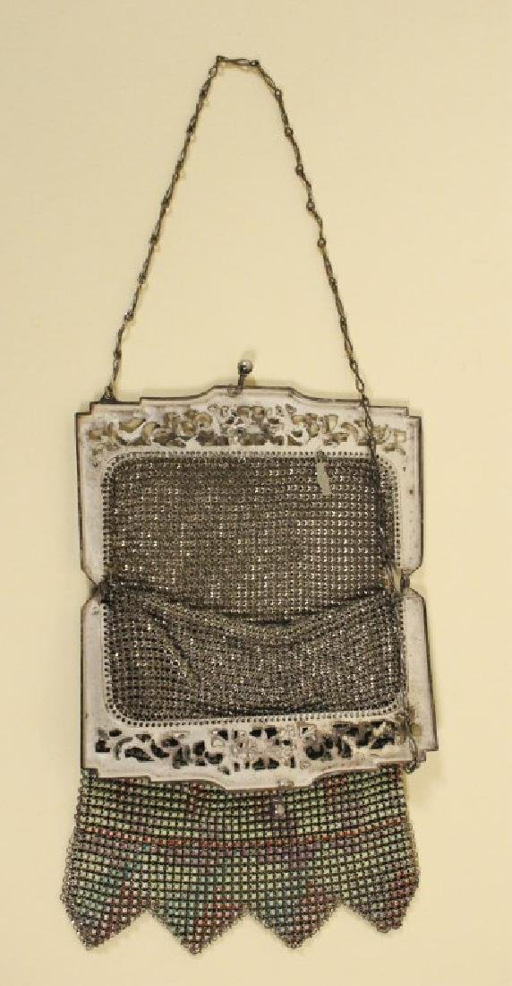 Whiting Vintage Mesh Purse & Beaded Purse - 4
