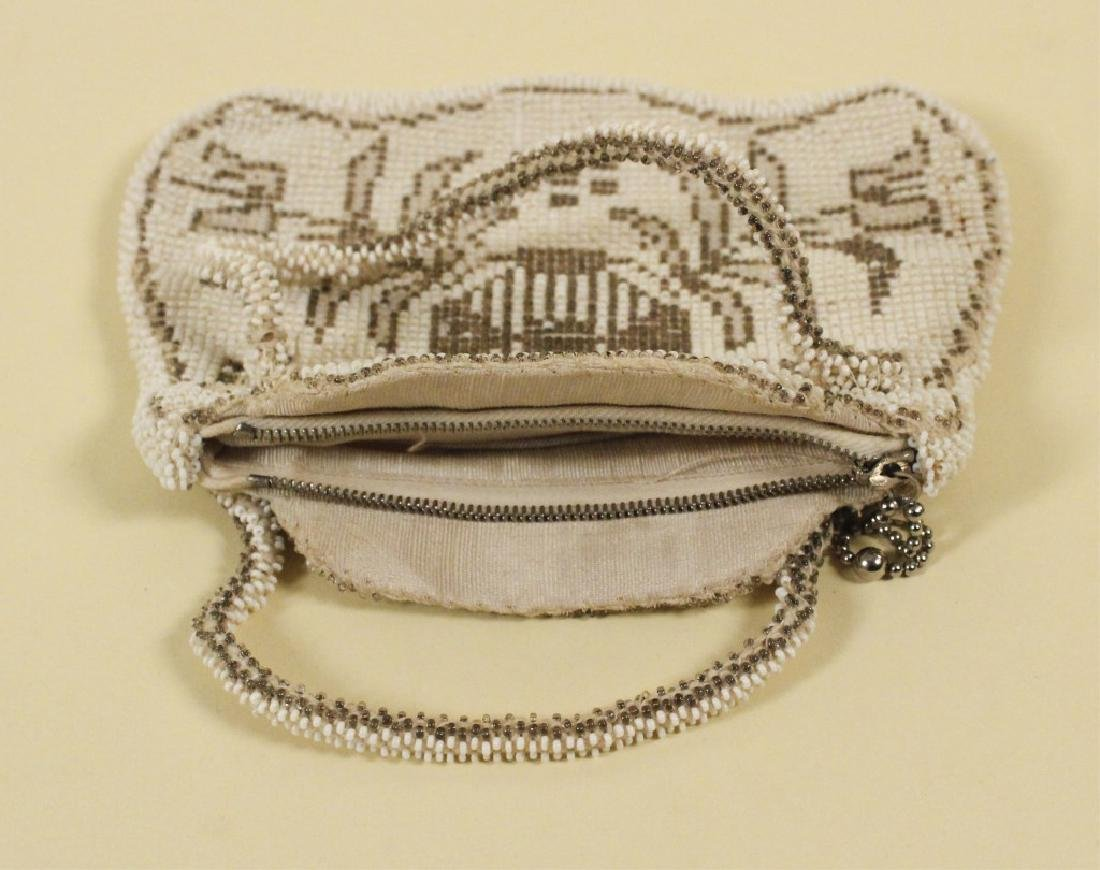 Whiting Vintage Mesh Purse & Beaded Purse - 6