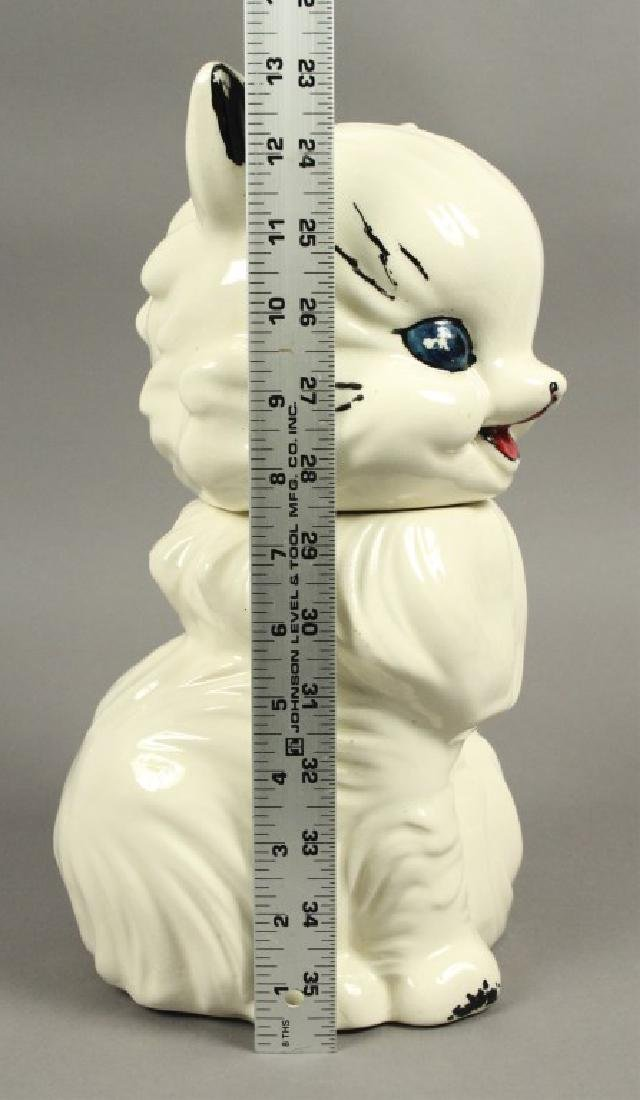 """American Bisque """"Fluffy the Cat"""" 1950's Cookie Jar - 5"""