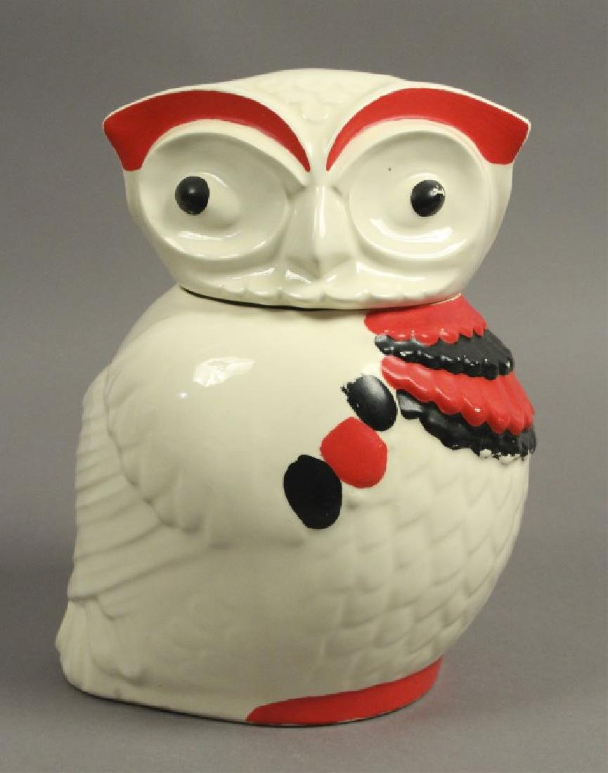 1950s Vintage American Ceramic Art Cookie Jar