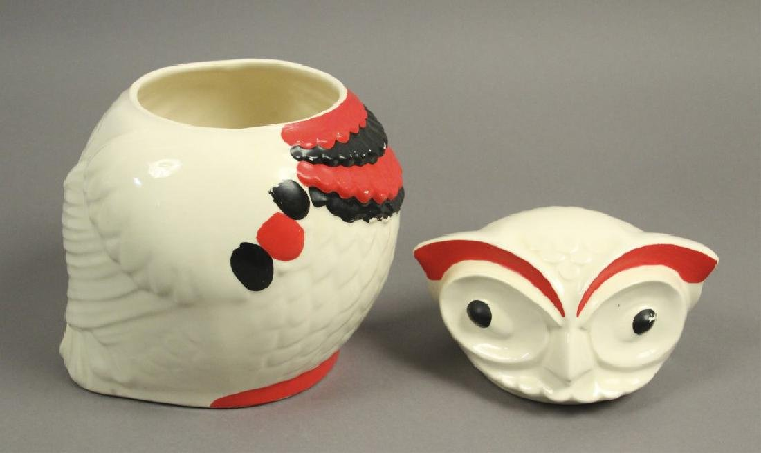 1950s Vintage American Ceramic Art Cookie Jar - 2