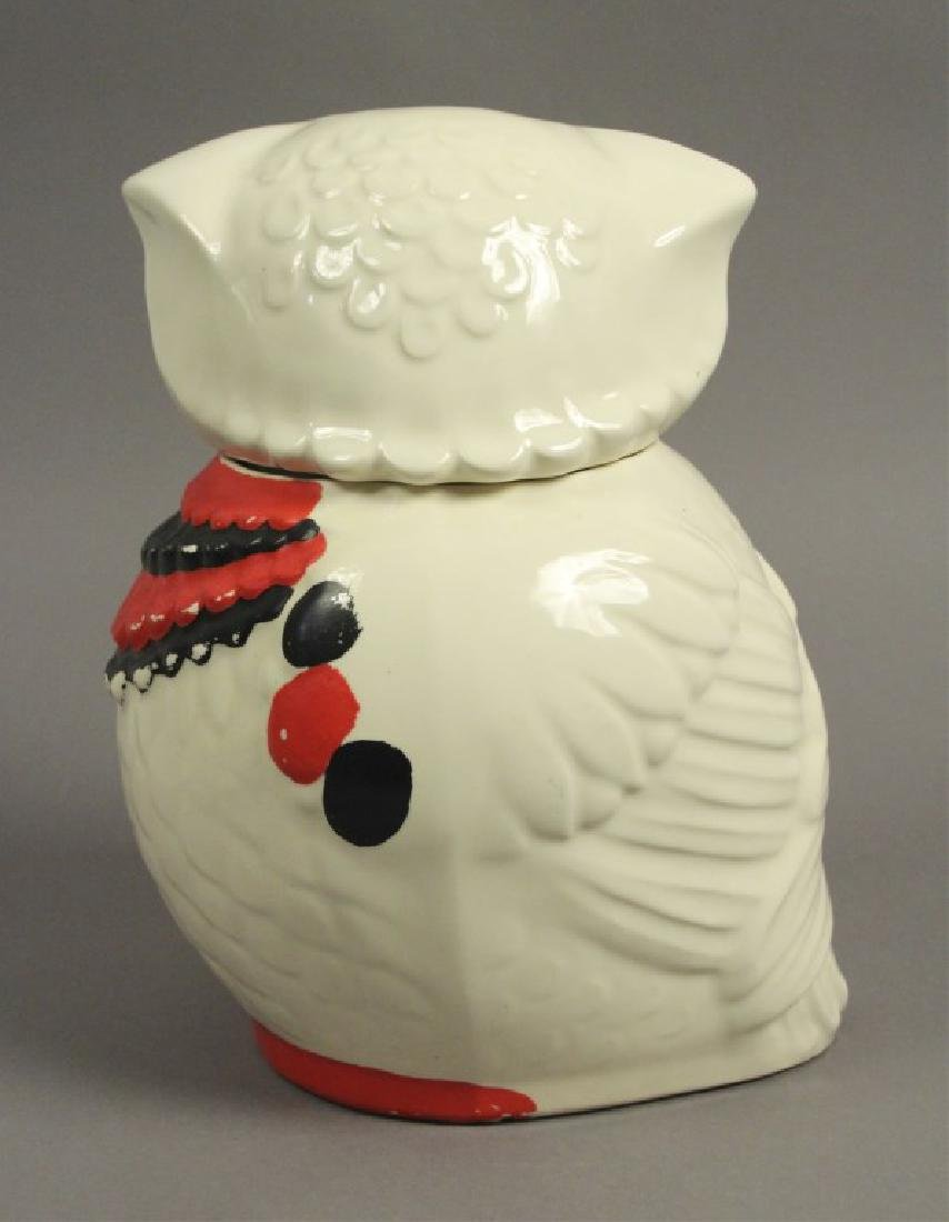 1950s Vintage American Ceramic Art Cookie Jar - 3