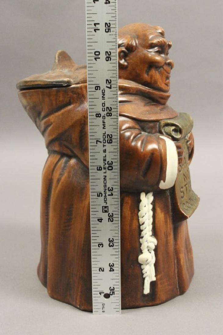'Thou Shalt Not Steal' Friar Cookie Jar - 6