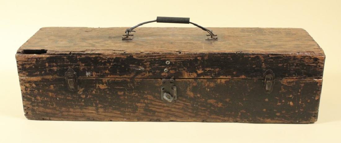 Cool Old Vintage Wood Tool Box