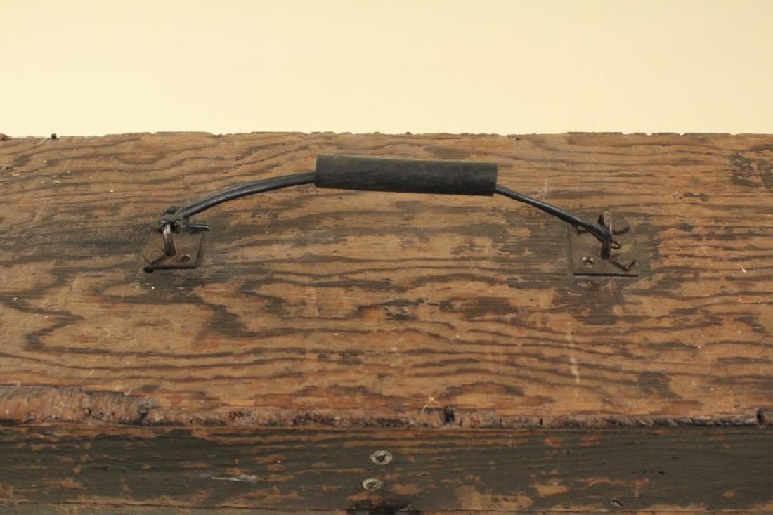 Cool Old Vintage Wood Tool Box - 3