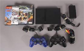 Playstation 2 with 3 games and 2 controllers