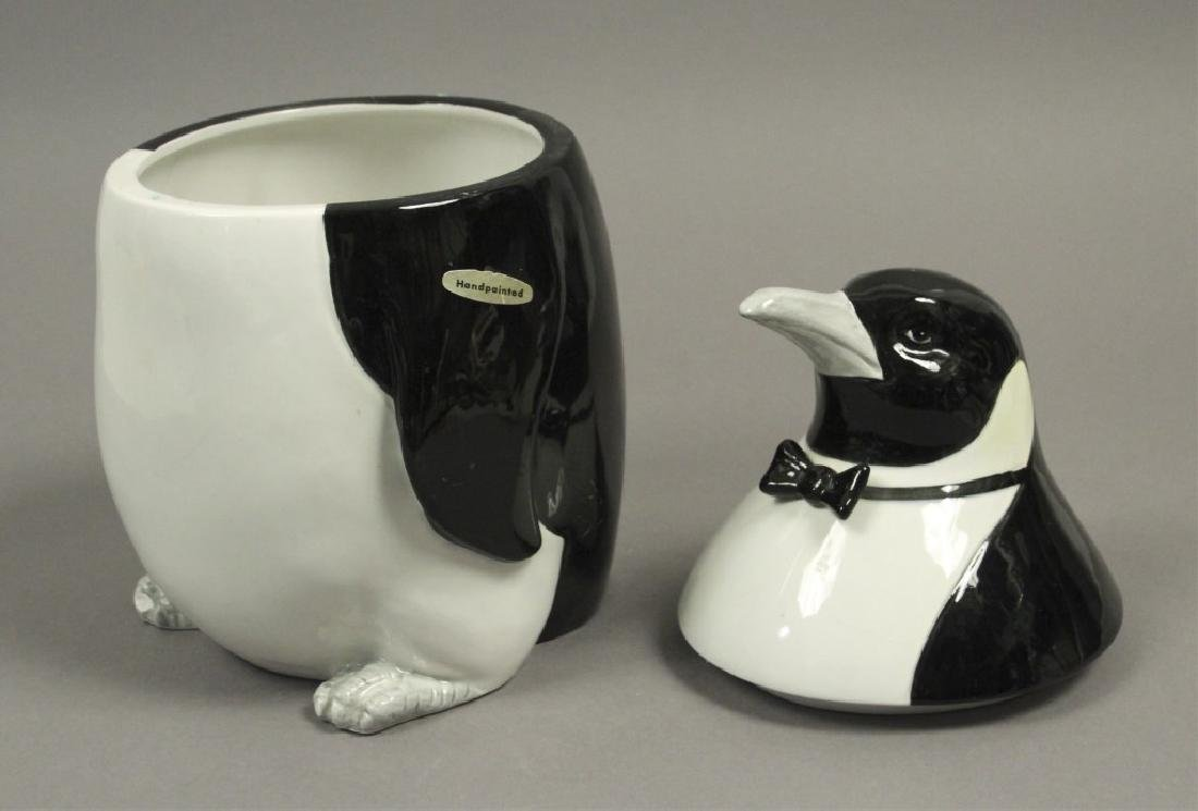 2 Collectible Penguin Cookie Jars - 2
