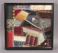 Framed Victorian Crazy Quilt Block