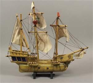 Santa Maria Model Sailing Ship