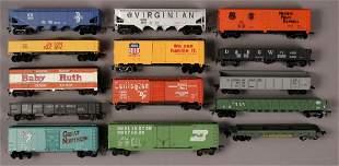 14 Assorted Train Cars Gondola Box Hopper