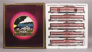MTH 206528 MoPac Katy 5 Car Passenger Set