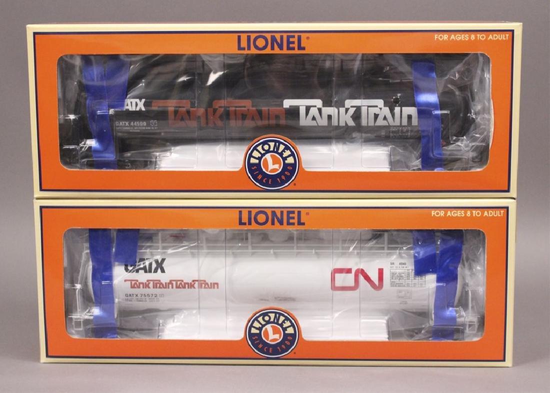 Lionel 6-19646 & 6-19647 CN & GATX Tank Cars
