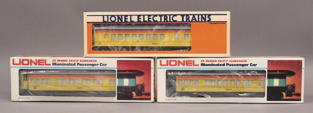 Lionel 6-9584, 6-9585, 6-9586 Chessie Train Set
