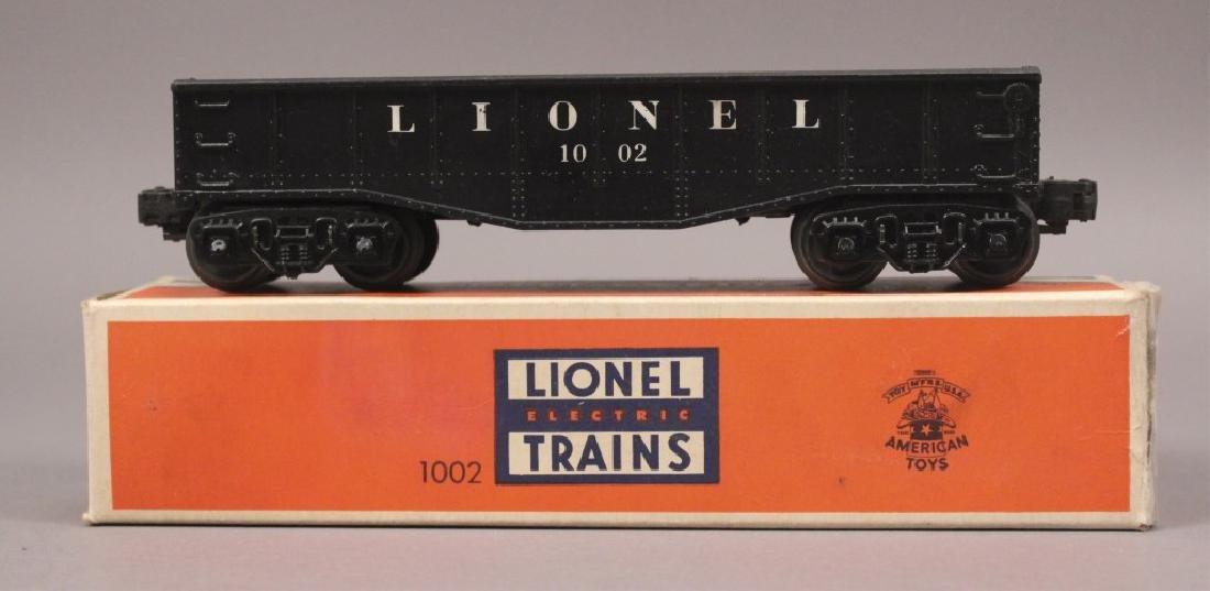 Lionel 1002 Black Gondola Car in the Box