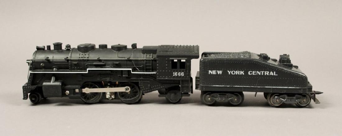 Marx 166 Steam Chest Locomotive & NYC Tender