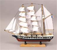 Belem Model Naval Training Sailing Ship