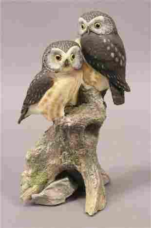 2002 Best Friends Owl Wildlife Statue
