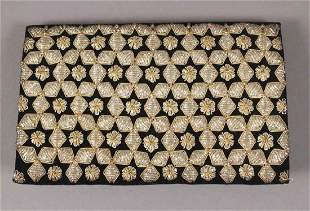 Vintage Beaded Embroidered Clutch Purse