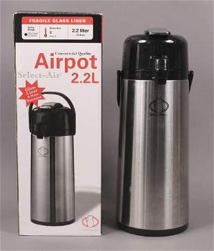 Service Ideas Airpot 22L 8 Hr Thermos