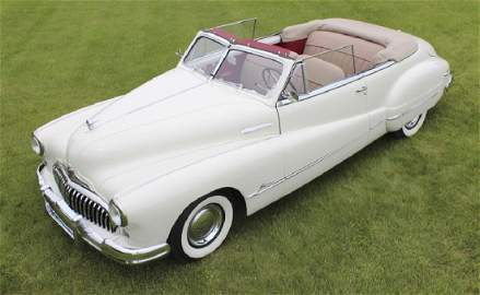 1948 Buick 5C - 6 Super Convertible Restored