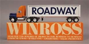 Winross Roadway Truck Trailer