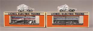 Lionel 617887 617888 Flatcar with Trailers