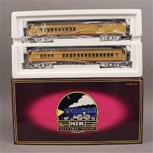 MTH 204152 U P Madison Passenger 2 Car Set