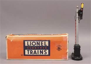 Lionel 151 Red Flag Semaphore with Original Box