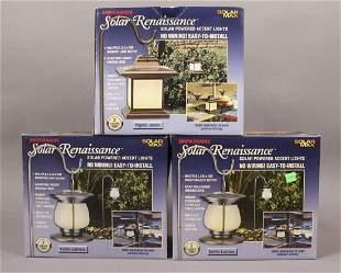 5 Brinkmann Solar Powered Accent Lights
