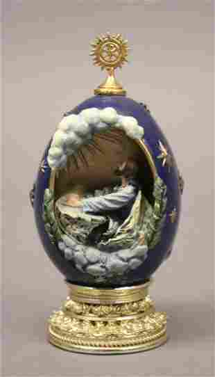 The Agony in the Garden Faberge Egg