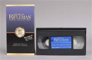 24 American Rifleman Video Collection VHS Tapes