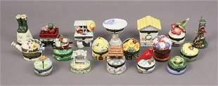 National Home Garden Treasure Trinket Boxes