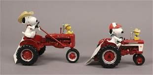 2 Snoopys Fun on the Farm Farmall Collections