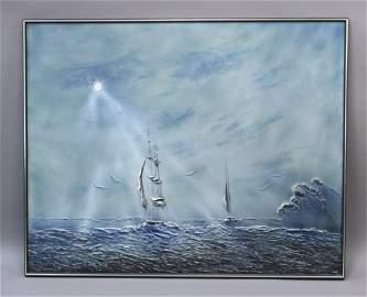 Ivar Bruun Original Modern Impressionist Painting