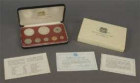 1975 The First Coinage of Papua New Guinea Set