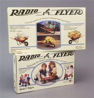 Radio Flyer Wheel Barrow Planter Wagon