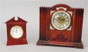 2 Architectural Decorative Clocks