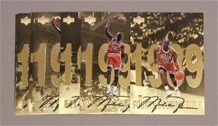 12 Autographed Michael Jordan Trading Cards