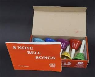 Bob Bergin Rhythm Band 8 Note Hand Bell Set