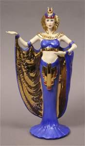 Power Franklin Mint Egyptian Goddess Figurine