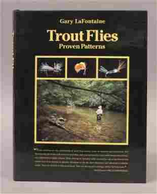 """""""Trout Flies Proven Patterns"""" Signed - La Fontaine"""