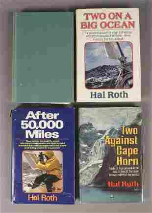 4 Assorted Sailing Adventure Books