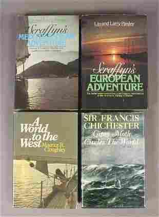 4 Sailing Adventure Books Chichester Seraffyns