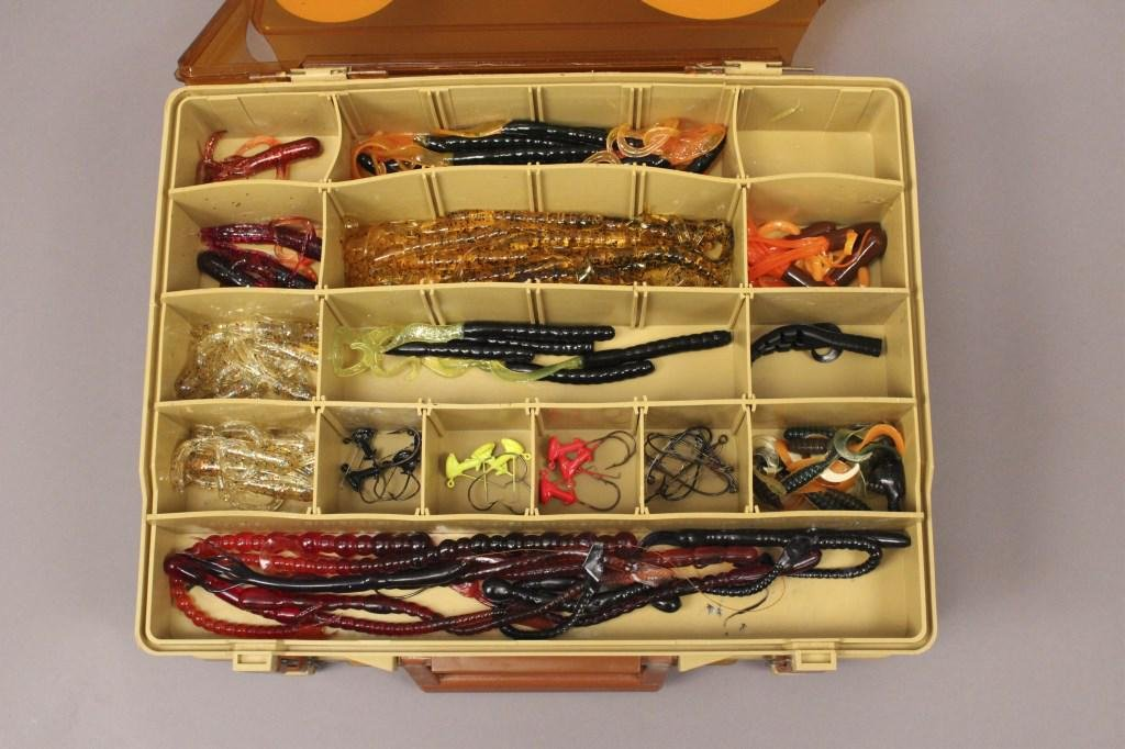 Magnum by Plano Tackle Box with Fishing Lures