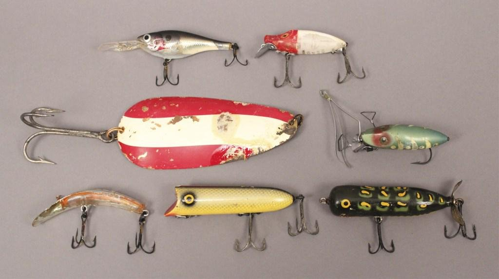 7 Assorted Fishing Lures