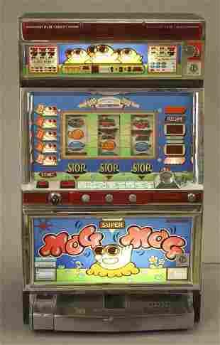 Electrocoin Super Mog Mog Token Slot Machine